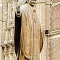 Statue Of Pope John Paul II by Jess Kraft