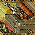 Steampunk Abstract by Liane Wright