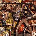 Steampunk - Gears - Inner Workings Print by Mike Savad