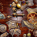 Steampunk - Gears - Reverse Engineering by Mike Savad