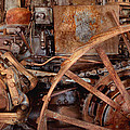Steampunk - Machine - The industrial age Print by Mike Savad
