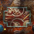 Steampunk - Pandora's Box by Mike Savad