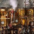 Steampunk - Plumbing - Distilation Apparatus  by Mike Savad