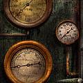 Steampunk - Plumbing - Gauging Success by Mike Savad