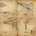 Steampunk Raygun by James Christopher Hill