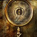 Steampunk - The Pressure Gauge by Mike Savad