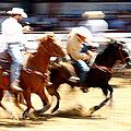 Steer Wrestling by Bill Keiran