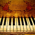 Steinway Golden Grand  by Colleen Kammerer
