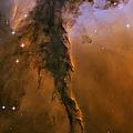 Stellar Spire In The Eagle Nebula by Adam Romanowicz