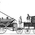 Stephensons Rocket 1829 by Science Source