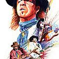 Stevie Ray Vaughn by Ken Meyer jr