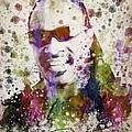 Stevie Wonder Portrait Print by Aged Pixel