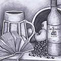 Still Life Drawing by Kamil Swiatek