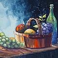 Still Life In Watercolours by Karon Melillo DeVega