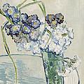 Still Life Vase Of Carnations by Vincent van Gogh