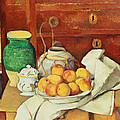 Still Life With A Chest Of Drawers by Paul Cezanne
