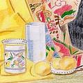 Still Life With A Patterned Background by Bav Patel