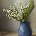 Still Life With Fresh Flowers by Jaroslaw Blaminsky