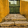 Stone Stair Entranceway  by David Letts