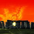 Stonehenge Solstice by Daniel Hagerman
