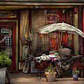 Storefront - Frenchtown NJ - The Boutique Print by Mike Savad