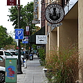 Storefronts In Historic Railroad Square Area Santa Rosa California 5d25806 by Wingsdomain Art and Photography