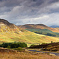 Storm Clouds Over The Glen by Jane Rix