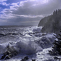 Storm Lifting At Gulliver's Hole by Marty Saccone