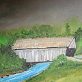 Stovall Covered Bridge by Robert Reily