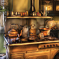 Stove - What's For Dinner by Mike Savad