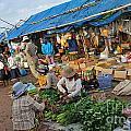 Street Market In Siem Reap by Sami Sarkis
