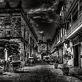 Streets Of Havana Bw by Erik Brede
