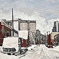 Streets Of Montreal Pointe St. Charles by Reb Frost