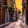 Streets Of San Juan by Karen Wiles