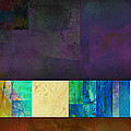Stripes And Squares - Abstract -art by Ann Powell