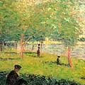 Study On La Grande Jatte by Georges Seurat