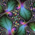 Stunning mandelbrot fractal Print by Matthias Hauser