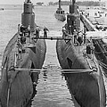 Submarines At Port by Retro Images Archive