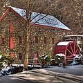 Sudbury Wintery Grist Mill by Mark Valentine