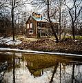 Sugar Shack In Deep River County Park by Paul Velgos