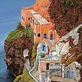 sul mare Greco by Guido Borelli