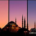 Suleymaniye Sundown Triptych 02 by Rick Piper Photography
