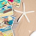 Summer Beach Postcards by Amanda Elwell