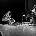 Sun Ra Dancer And Marshall Allen by Lee  Santa