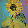 Sunflower Print by Michael Creese