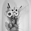 Sunflowers In A Basket by Christine Till