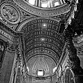 Sunlight In St. Peter's by Susan  Schmitz