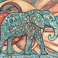 Sunphant Sun Elephant by Tamara Phillips