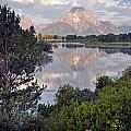 Sunrise At Oxbow Bend 3 by Marty Koch