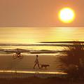 Sunrise at Topsail Island 2 Print by Mike McGlothlen